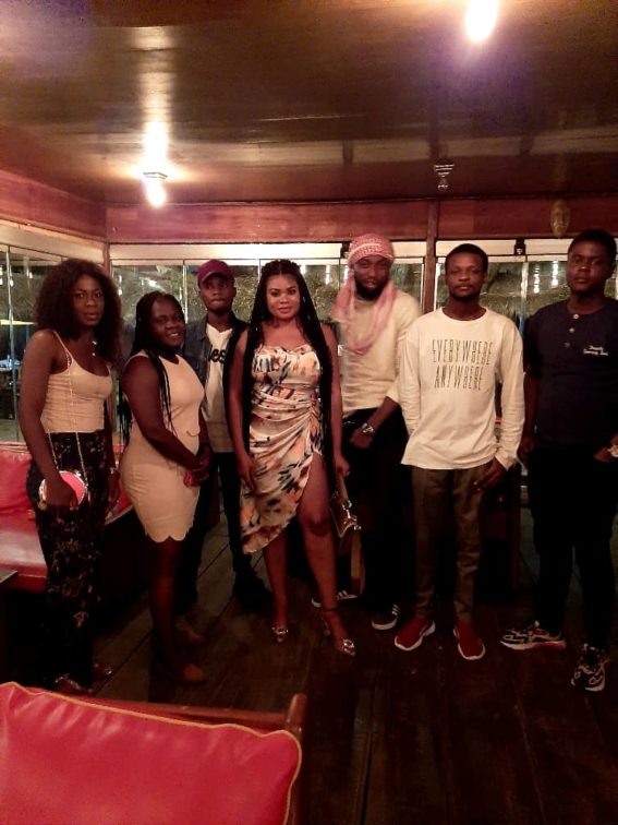 Yariah celebrates with friends and family in Ghana during her 28th birthday